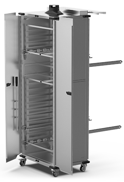 BAKERY SPECIAL ADD-ONS QUICK.Load and neutral trolleys XWBYC-14EU-D