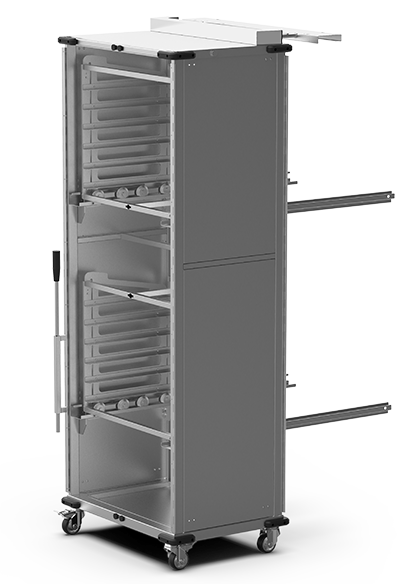 BAKERY SPECIAL ADD-ONS QUICK.Load and neutral trolleys XWBYC-12EU