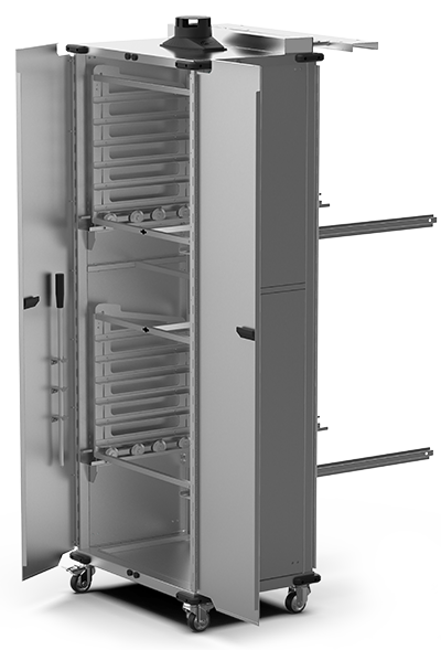 BAKERY SPECIAL ADD-ONS QUICK.Load and neutral trolleys XWBYC-12EU-D