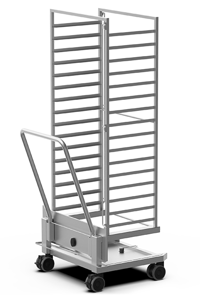 BAKERY SPECIAL ADD-ONS QUICK.Load and neutral trolleys XEBTL-16EU