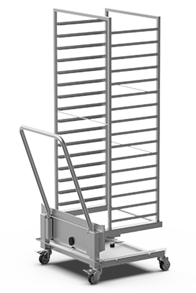 BAKERY SPECIAL ADD-ONS QUICK.Load and neutral trolleys XEBTC-16EU